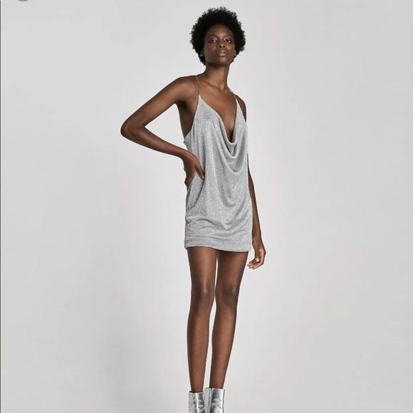 6c1e033a Zara Dresses | Metal Mesh Dress Size S 5580922808 | Poshmark
